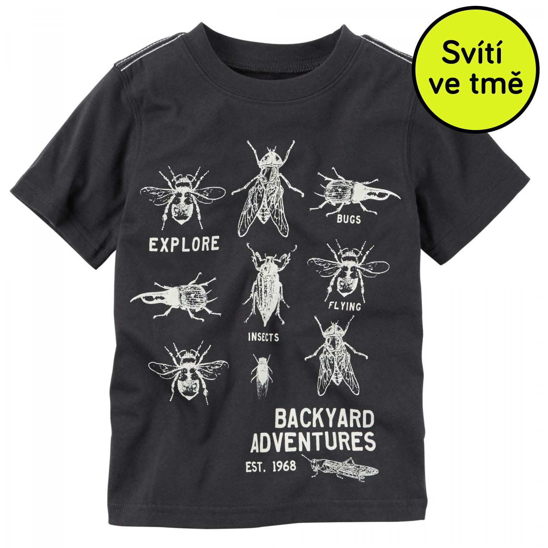 a7c9eeb46113 Carter s Chlapčenské svietiace tričko s chrobáčikmi