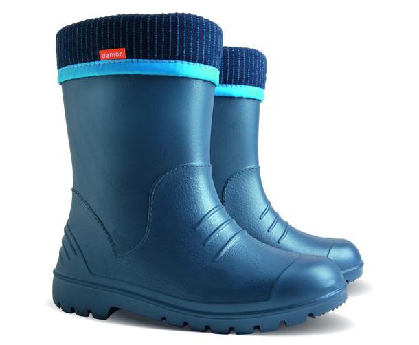11711abff63e Demar Chlapčenské čižmy Dino - modré