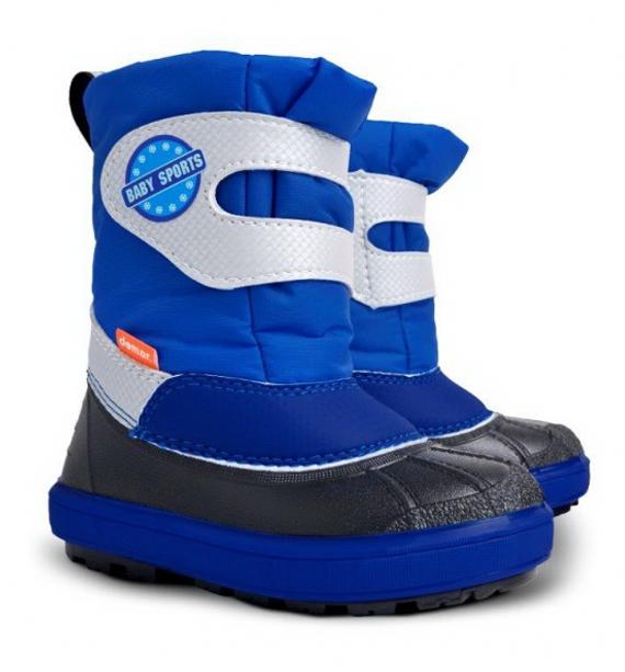 3ec292d7186 Demar Chlapčenské snehule Baby Sports B - modré