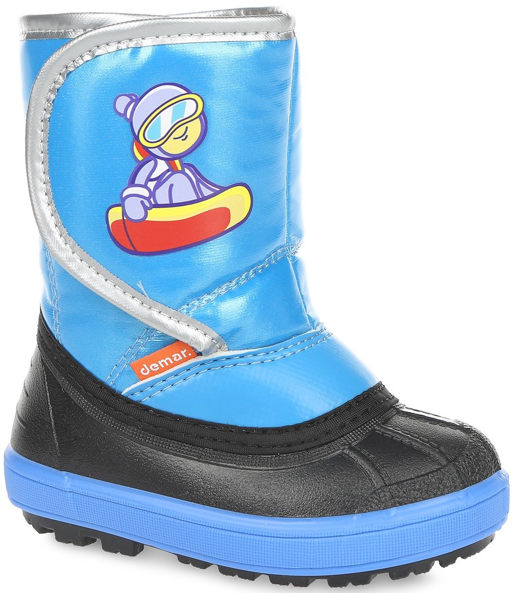 Demar Chlapčenské snehule Snowboarder B - modré fc9aa0079e