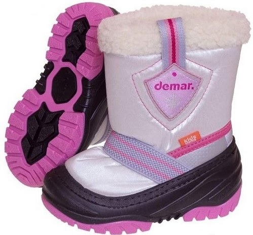 72ce1823f18 Demar Dievčenské snehule Toby B - ružové