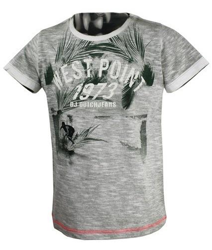 249b0708cbd6 Dirkje Chlapčenské tričko 1973 - sivé