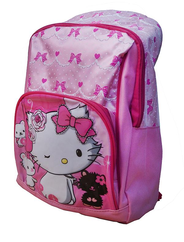 b0c9701c99 Disney Dievčenské školský batoh Hello Kitty