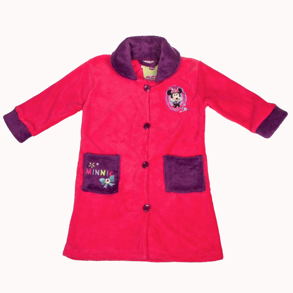 73b49b45db95 Disney Župan Minnie - tmavo ružový