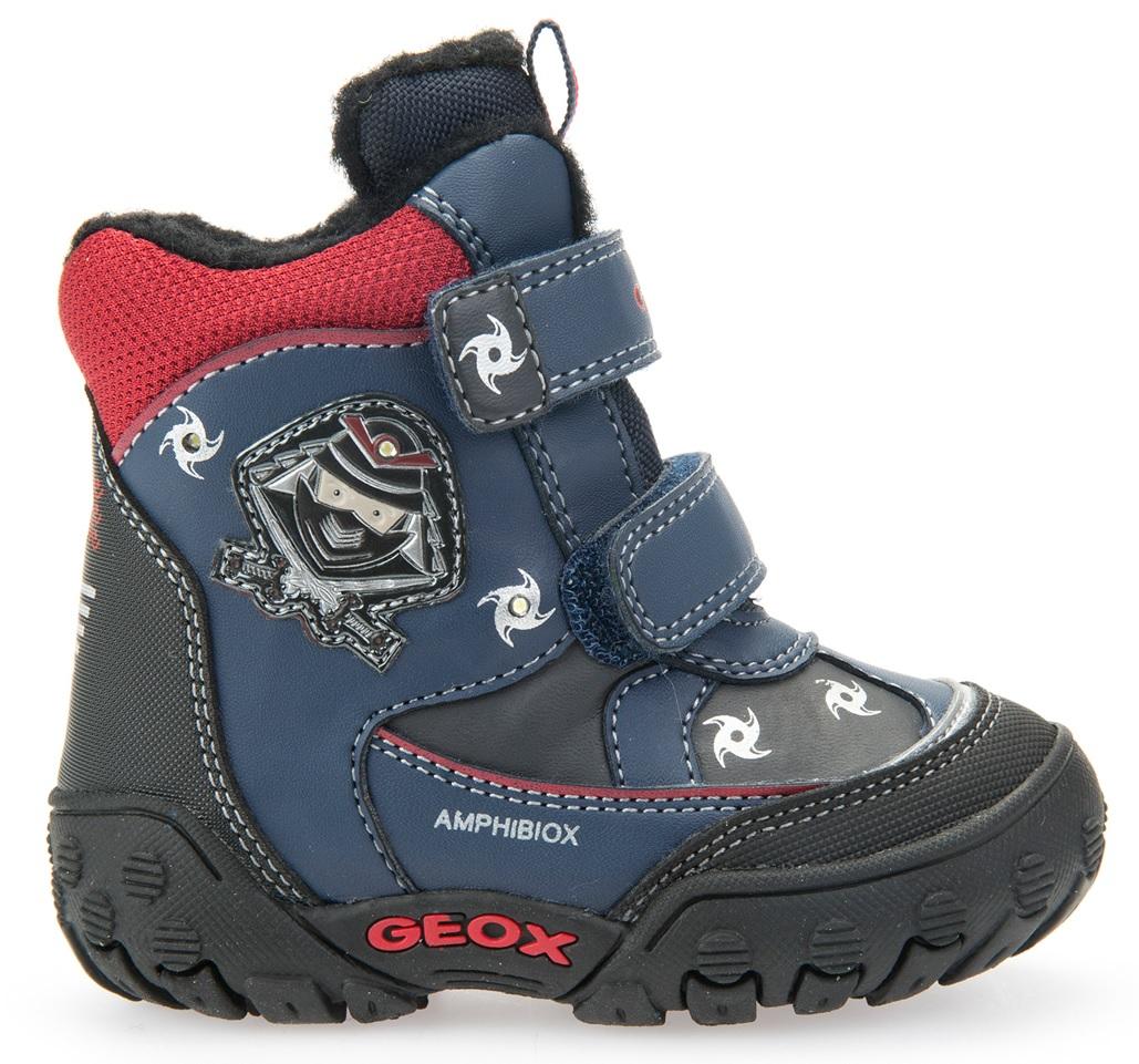 Geox Chlapčenské zateplené členkové topánky B Gulp B Boy Abx - modré ... 6102e4b1c97