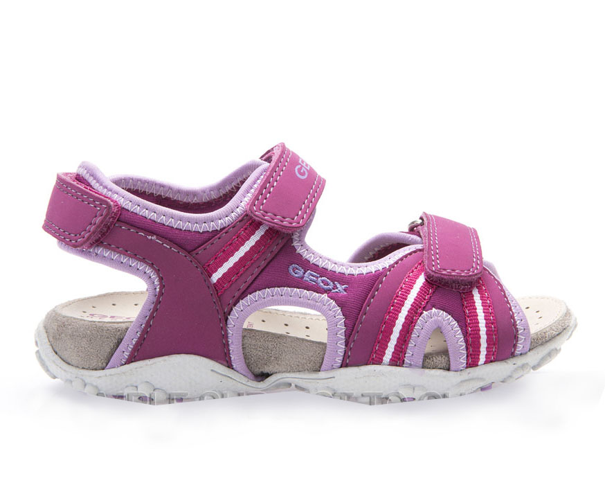 Geox Dievčenské ružové sandále JR Sandal Roxanne ba349b438b