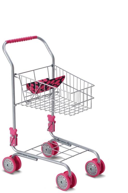 HM Studio Nákupný vozík - ružový  6acd51064e7