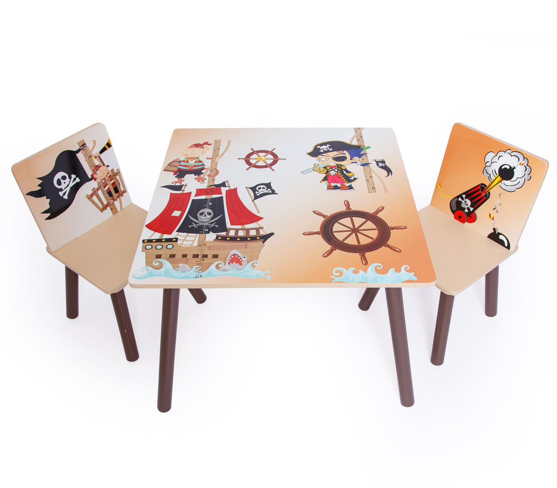 ba11dc8b33d44 Home style 4 you Detský stôl s stoličkami Pirát | BabyRecenzie.sk