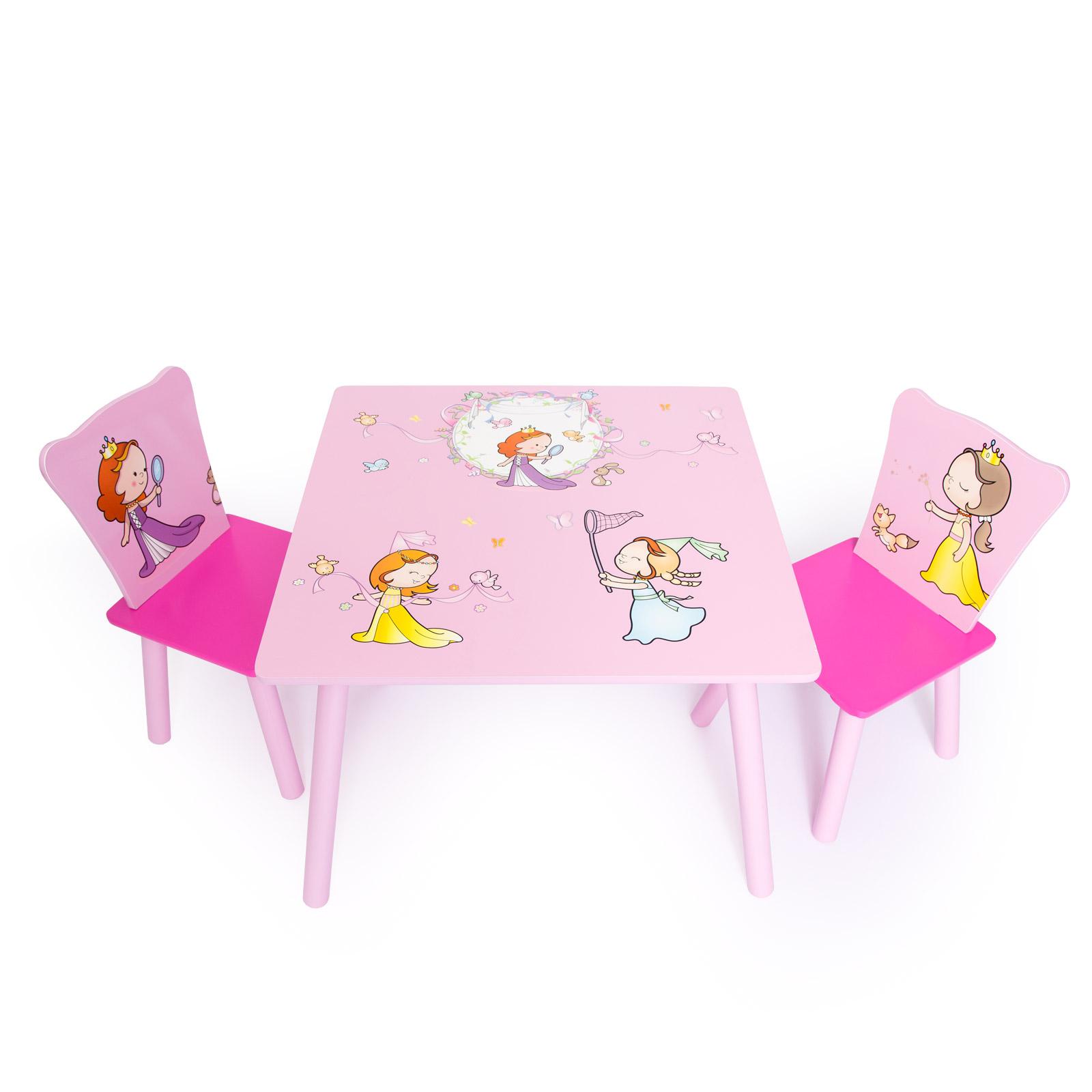 b0ab3ee98801 Home style 4 you Detský stôl so stoličkami Princezné