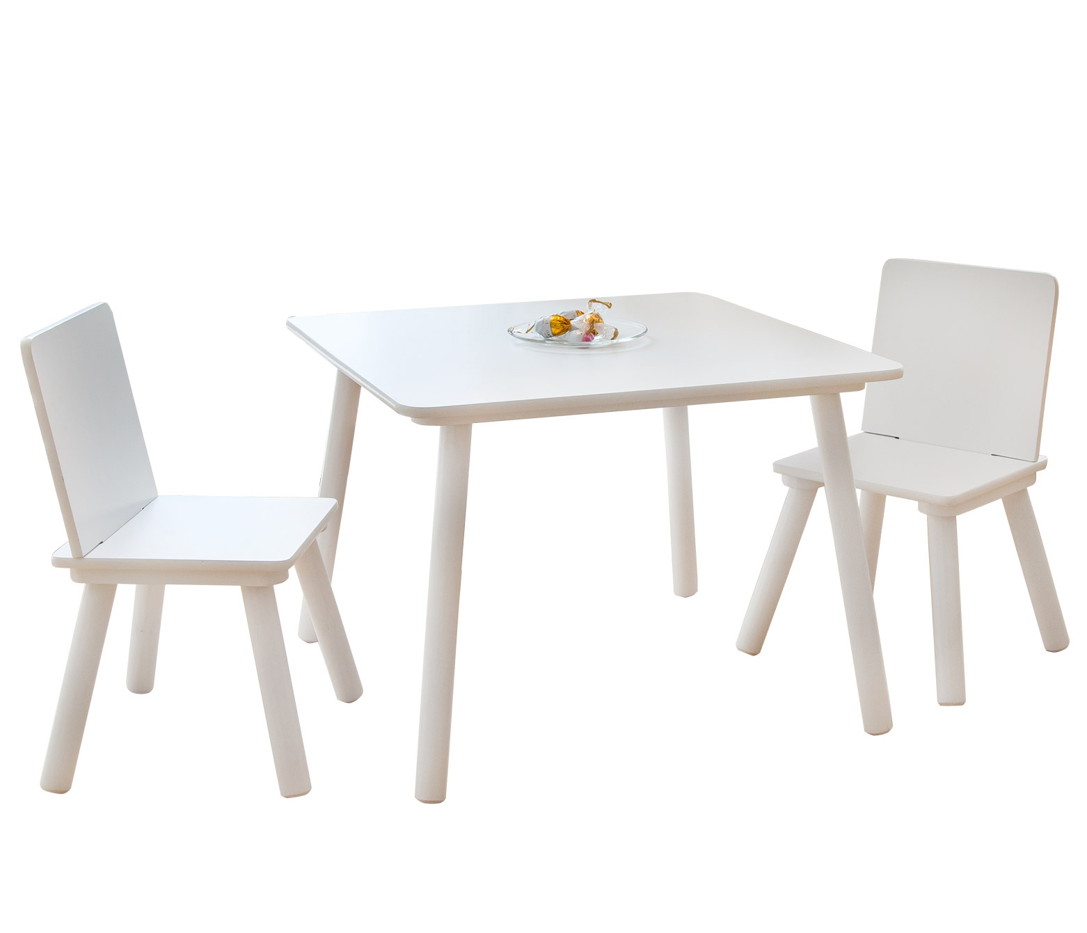 eb5291cba8e9a Home style 4 you Detský stolík so stoličkami - biely | BabyRecenzie.sk