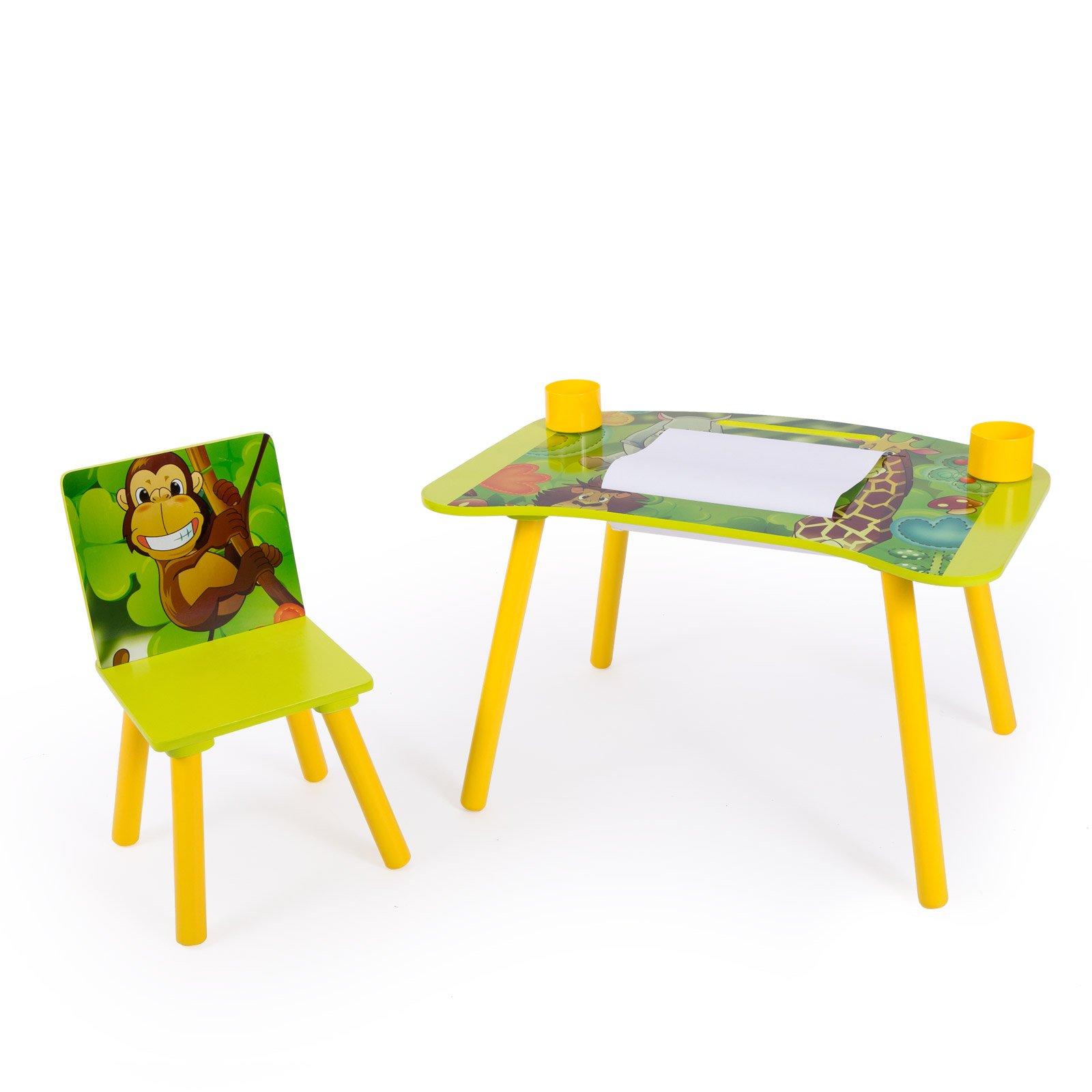 a152379a8a97 Home style 4 you Detský stolík so stoličkou Jungle