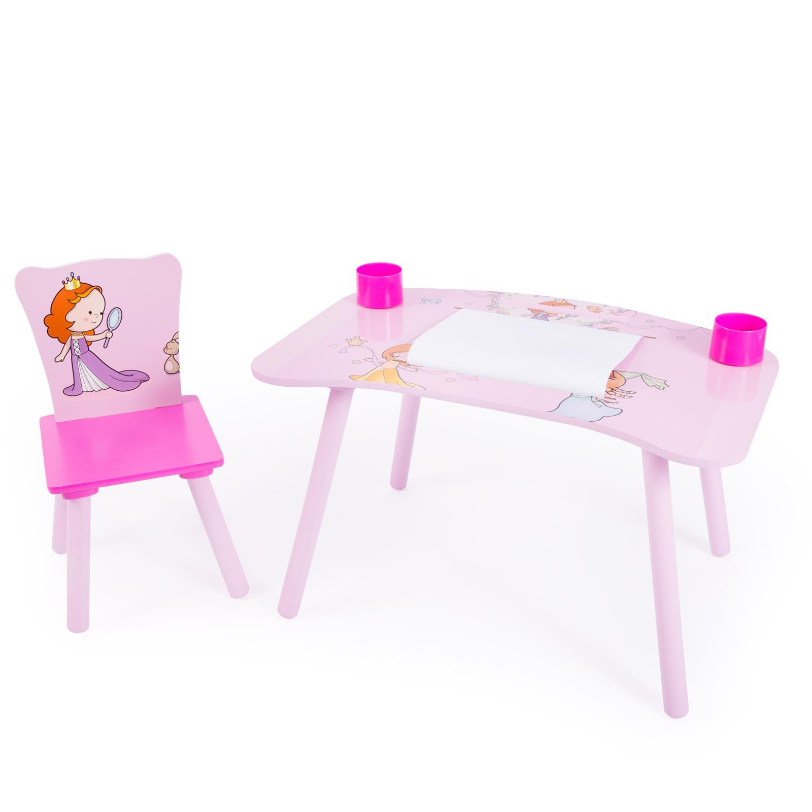c1bef3074421 Home style 4 you Detský stolík so stoličkou Princezné
