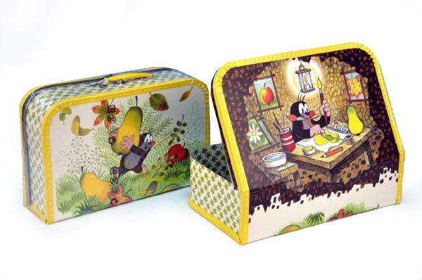 f8dbac37dfead Kazeto Kufor Krtko a hruška, šitý, 35 x 23 x 10,5 cm | BabyRecenzie.sk
