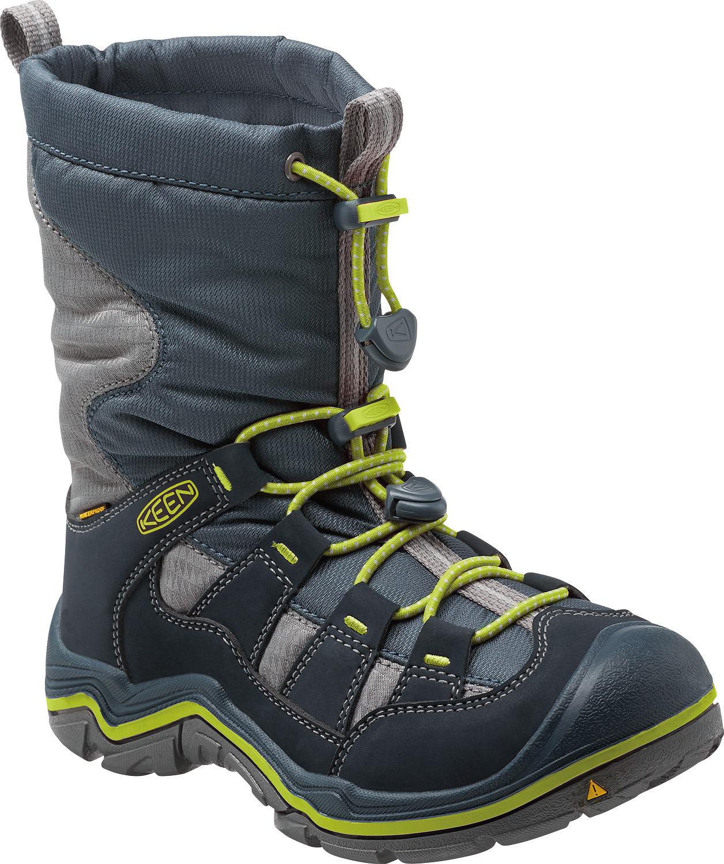 42fe7500bbc Keen Chlapčenská zimná obuv Winterport II WP - tmavo modrá
