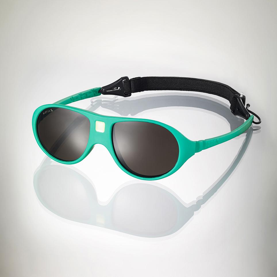 Ki ET LA Detské slnečné okuliare JokaLa (2 - 4 rokov) - zelený smaragd 1b5d68806a9