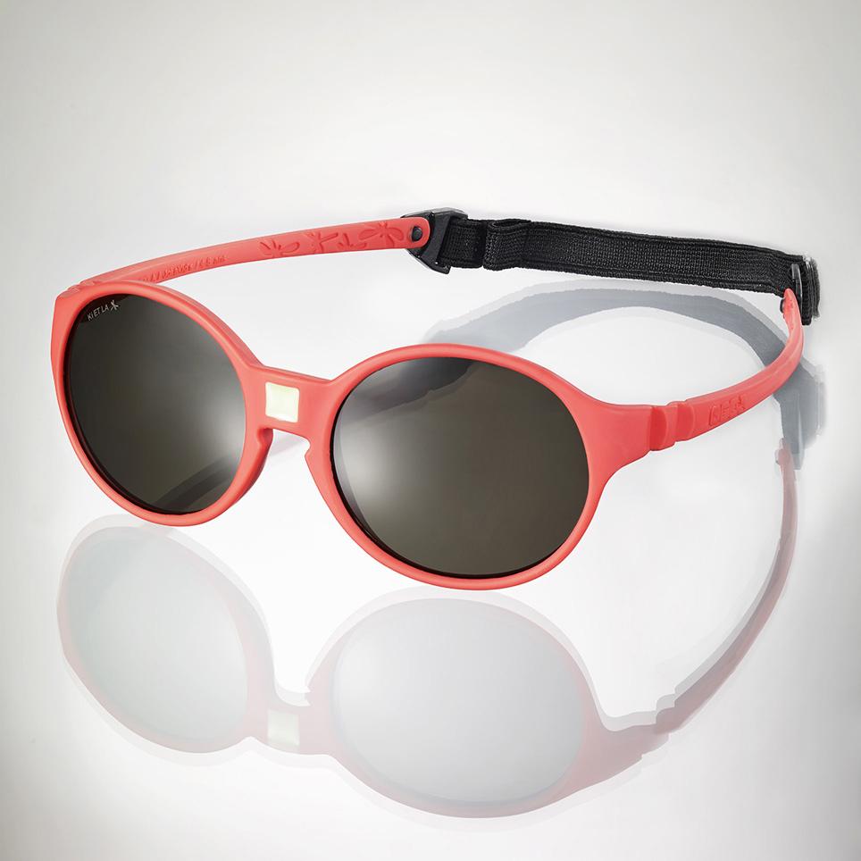 Ki ET LA Dievčenské slnečné okuliare JokaKid s (4-6 rokov) - koralové 4f80ee73d43
