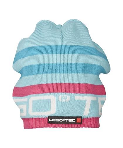 663380ed6 LEGO® wear Dievčenská zimná čiapka Aston - modrá, 52 cm ...
