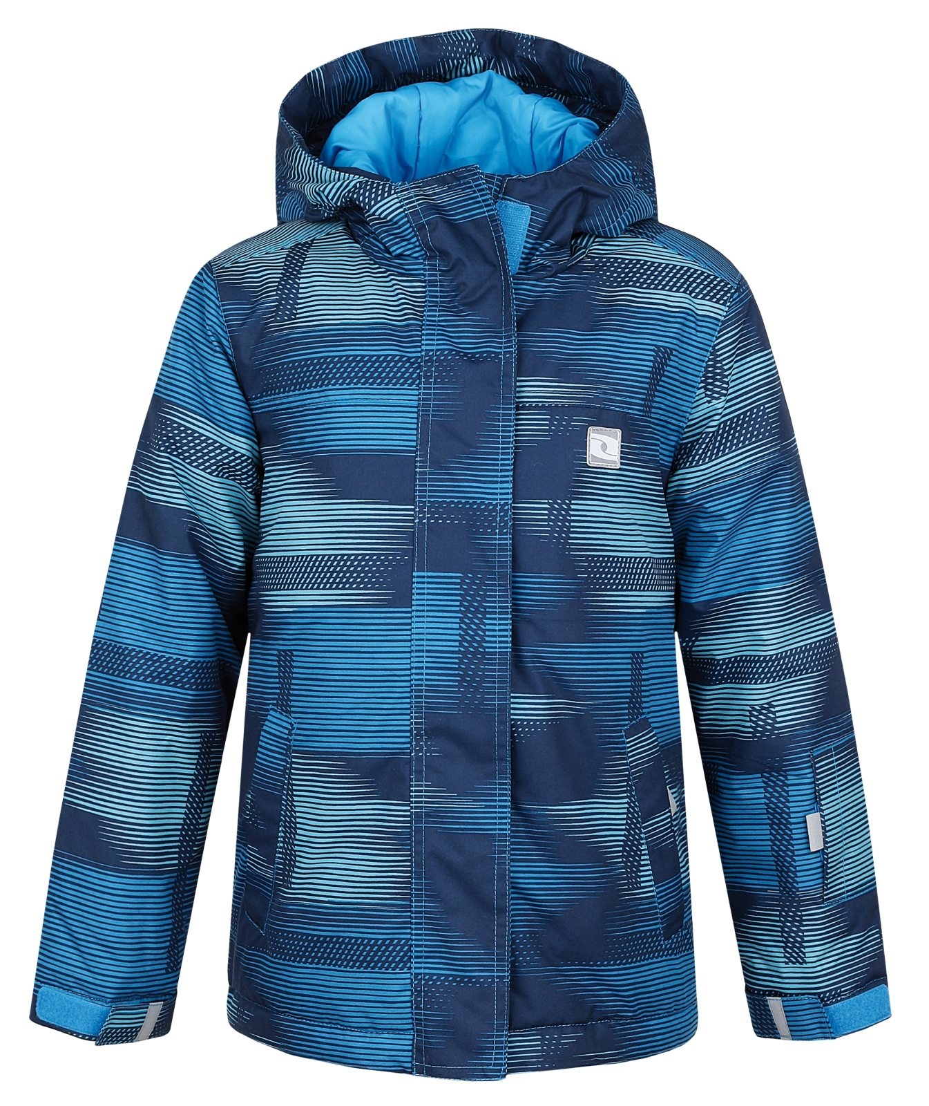 LOAP Chlapčenská lyžiarska bunda Zelma - modrá 6d0d38d0801