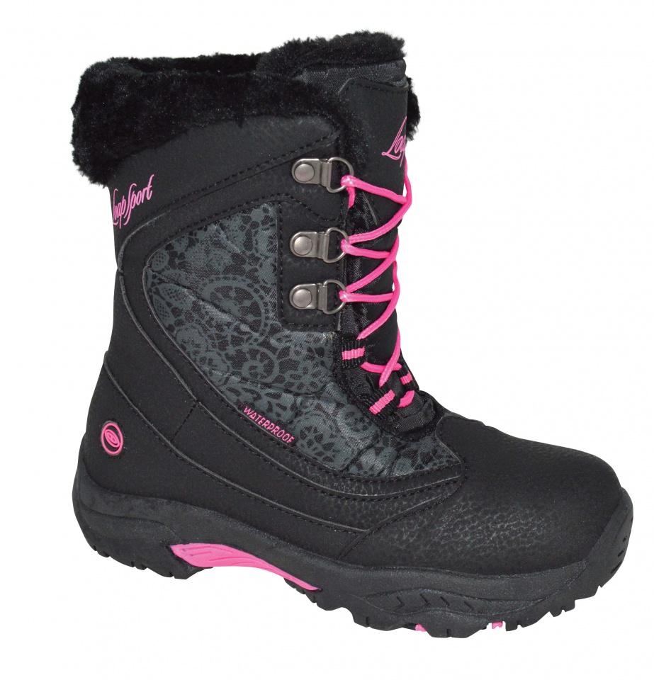 c7bf52d6d LOAP Detské zimné topánky Spirit - čierne, EUR 33 | BabyRecenzie.sk