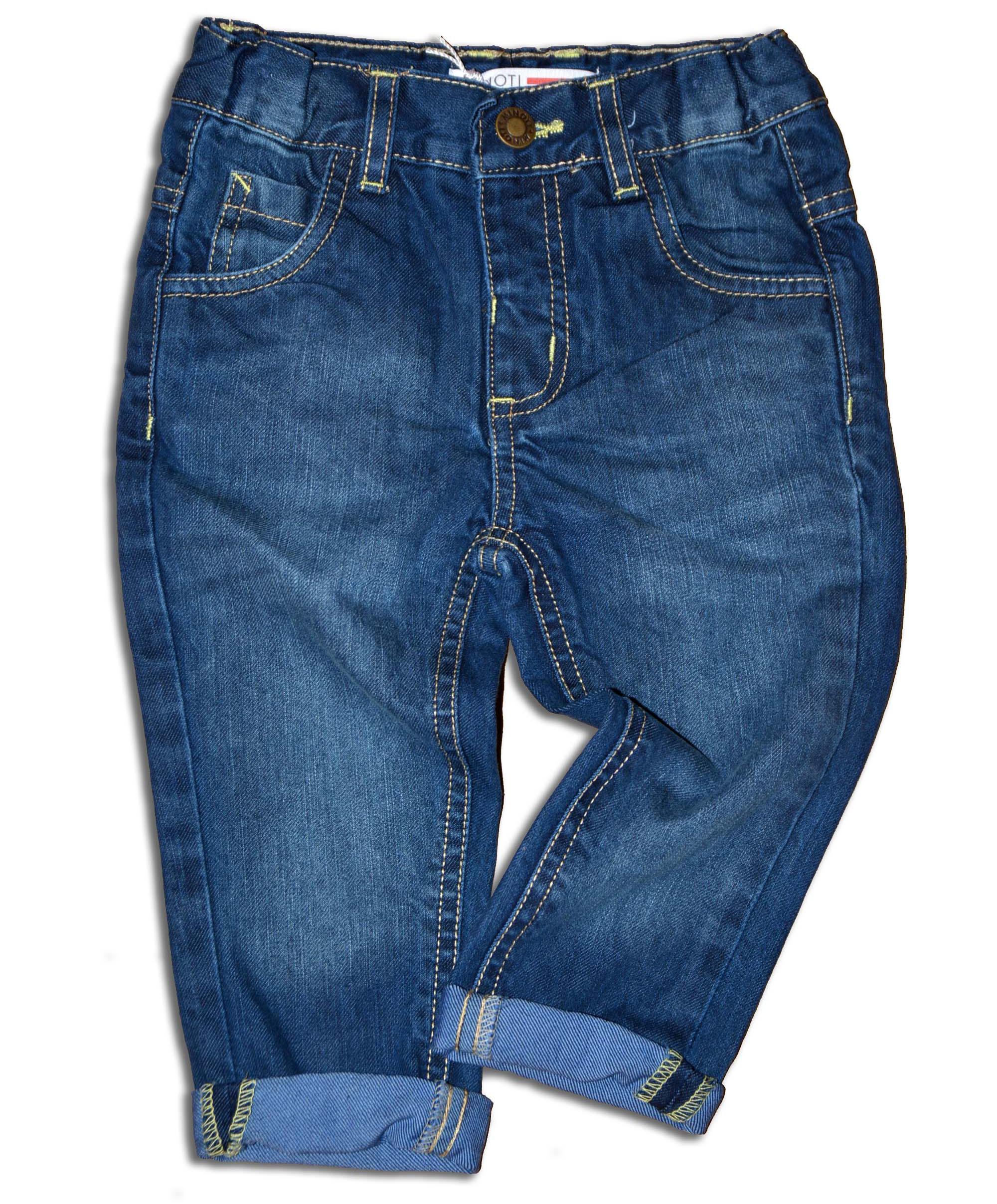 884bb4b83577 Minoti Chlapčenské džínsové nohavice Flag - modré