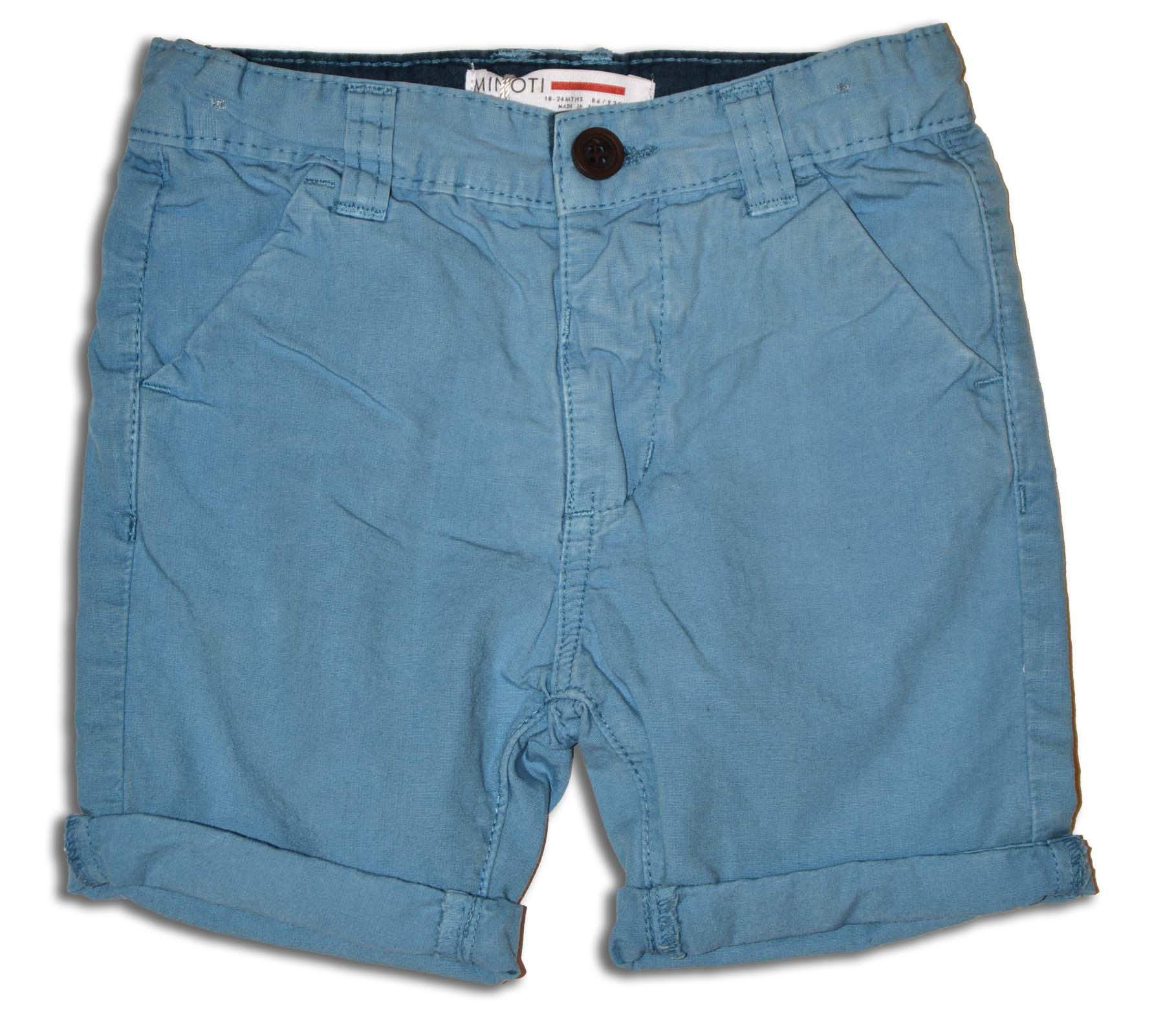 98100654b1bb Minoti Chlapčenské kraťasy Malibu - modré