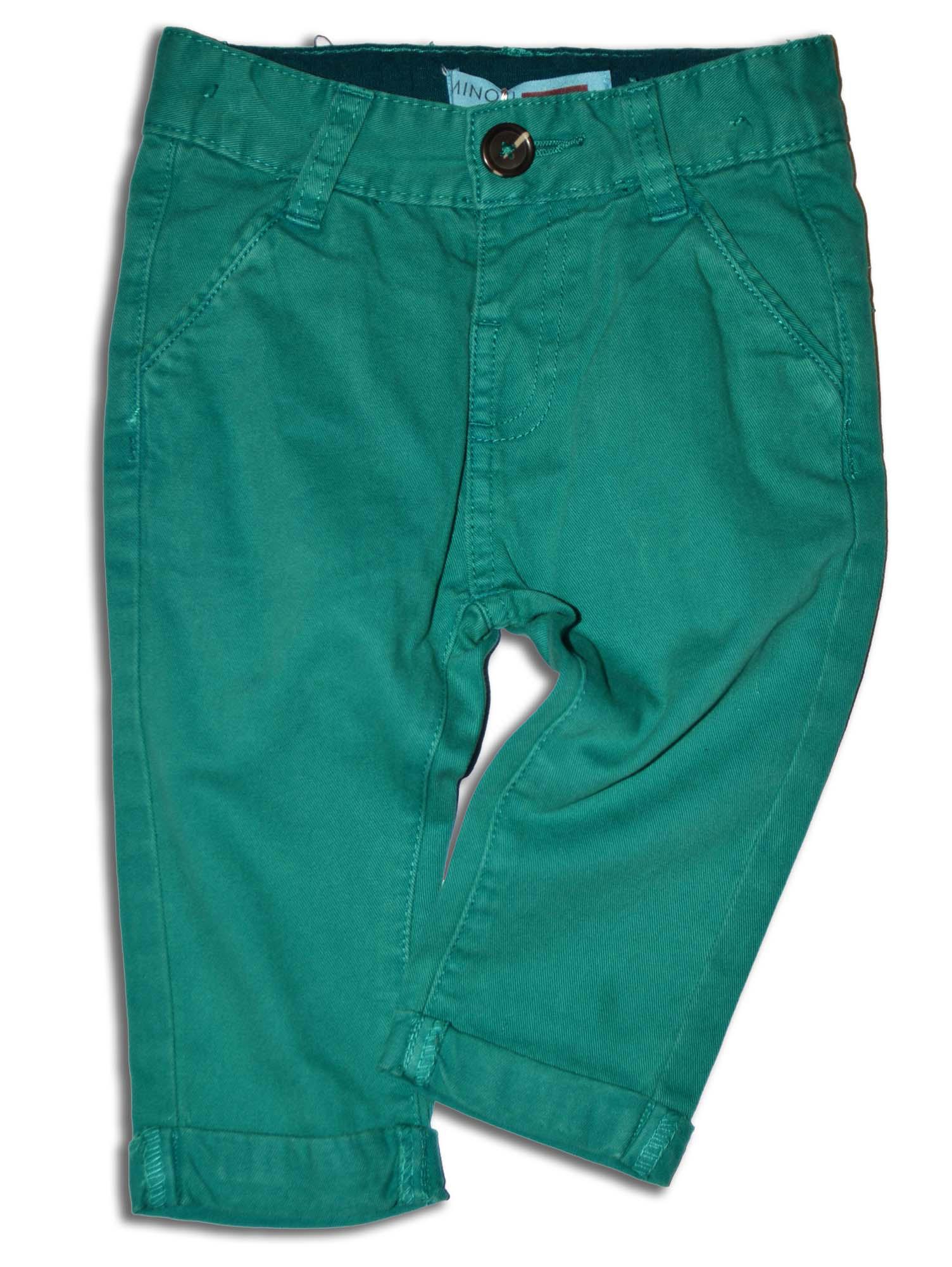 03f100851b0e Minoti Chlapčenské nohavice Flag - zelené