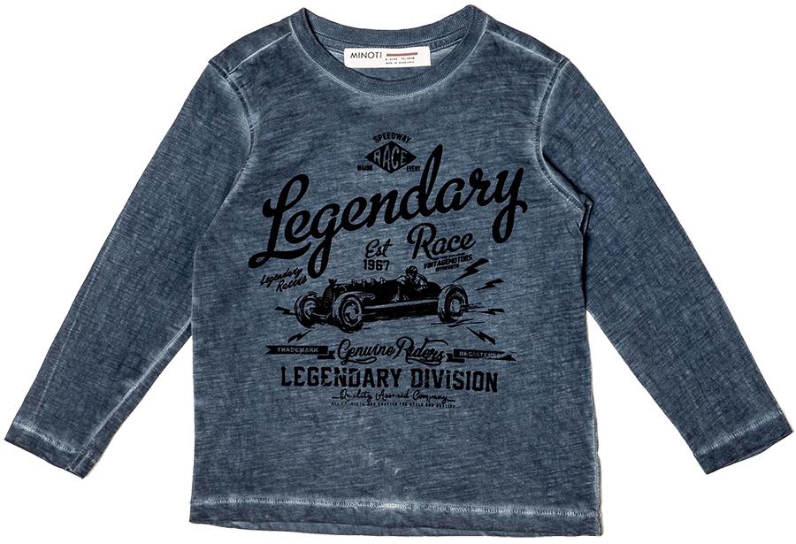 515d00fb07c8 Minoti Chlapčenské tričko Race 5 s nápisom - modré