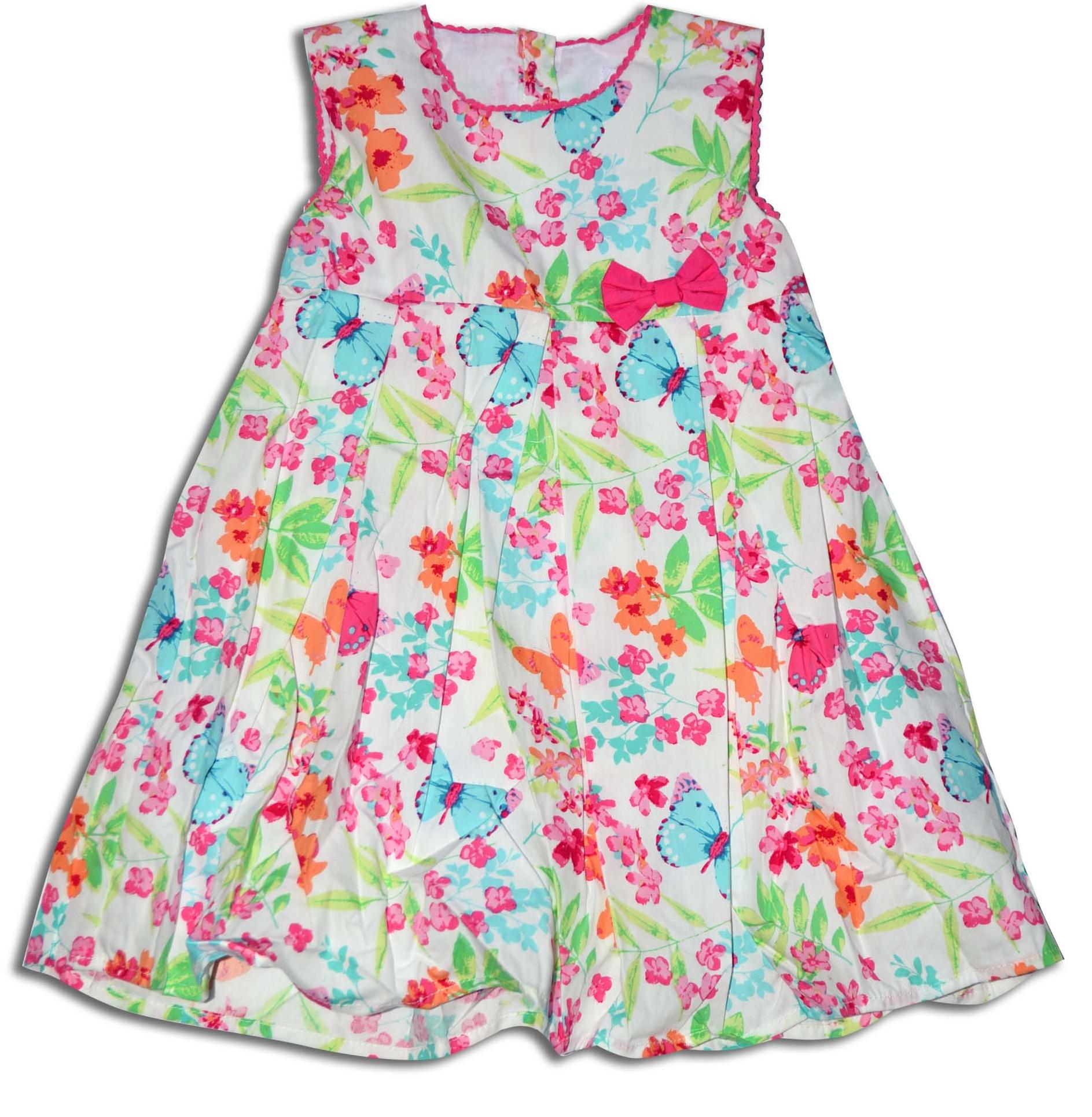 Minoti Dievčenské letné šaty (menšie) TROPICAL 1 - farebné 5a372179e9