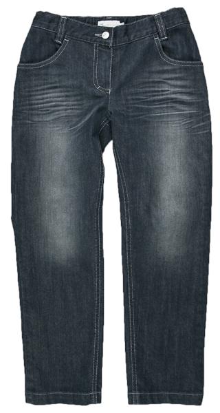 3e941678cda8 MMDadak Dievčenské džínsové nohavice so šisováním - tmavo modré