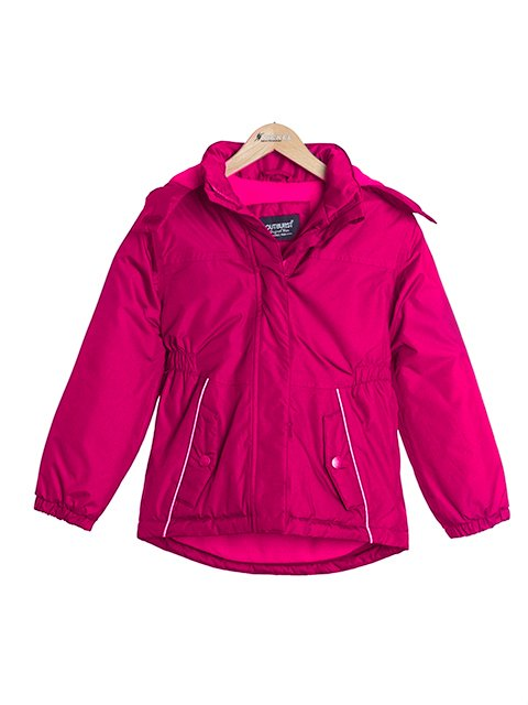 2137a523a4c8 Nickel sportswear Dievčenská zimná bunda - ružová