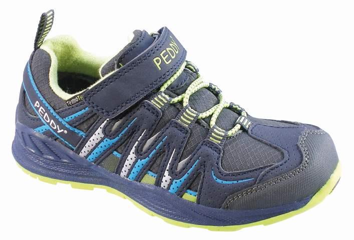 5a484a3c628a0 Peddy Chlapčenské outdoorové topánky s membránou - tmavo modré, EUR ...