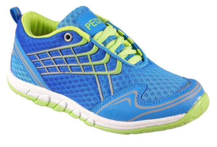 286b80b82c68d Peddy Chlapčenské športové tenisky - modro-zelené, EUR 32 ...