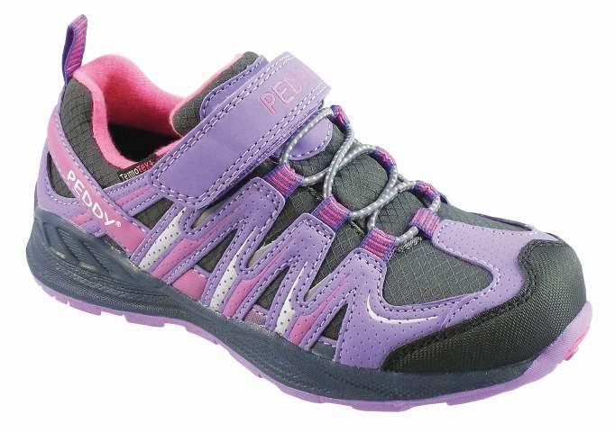 f40e8d0896b2d Peddy Dievčenské outdoorové topánky s membránou - fialové, EUR 31 ...