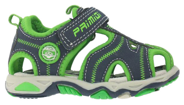 85168e5854613 Primigi Chlapčenské sandále - sivo-zelené, EUR 22   BabyRecenzie.sk