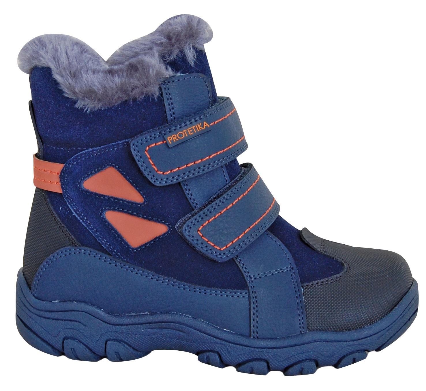 7de708d1f Protetika Chlapčenské zimné topánky Azaro - modré, EUR 31 ...