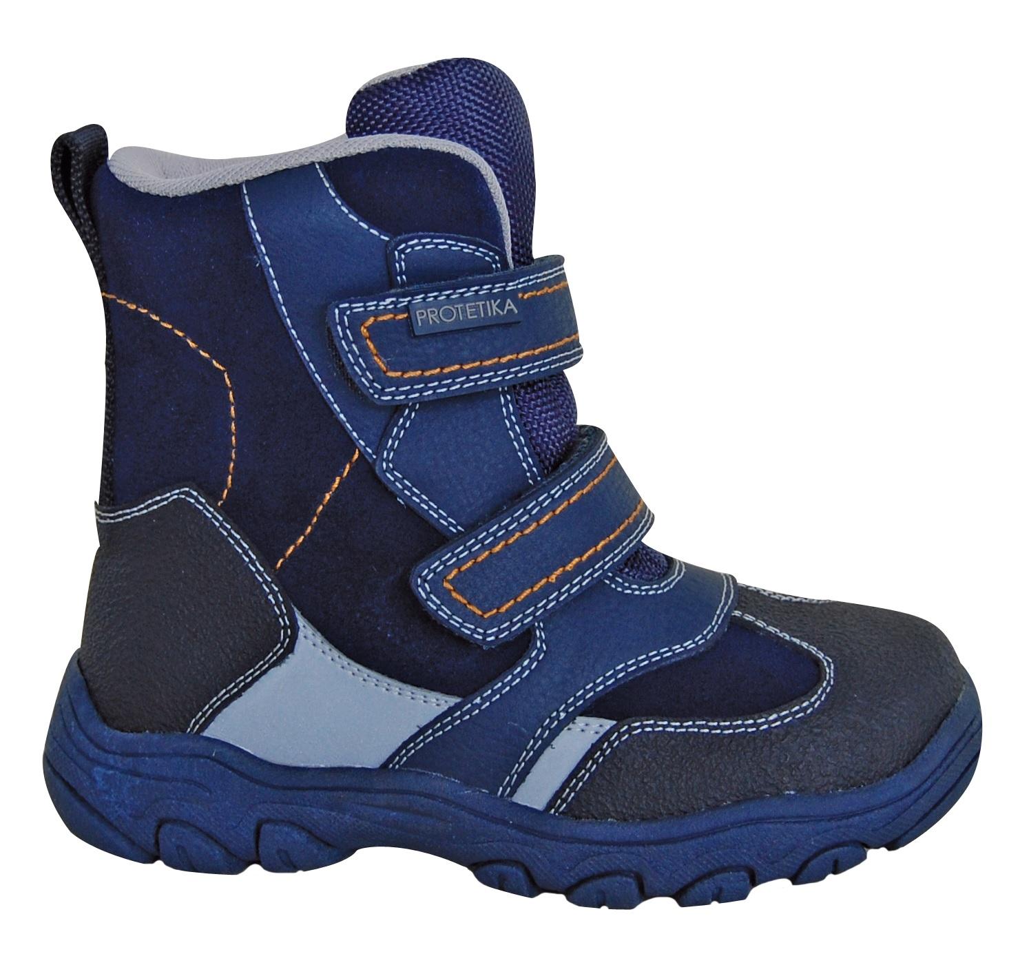 Protetika Chlapčenské zimné topánky Bolzano - modré 45979f1cc6c