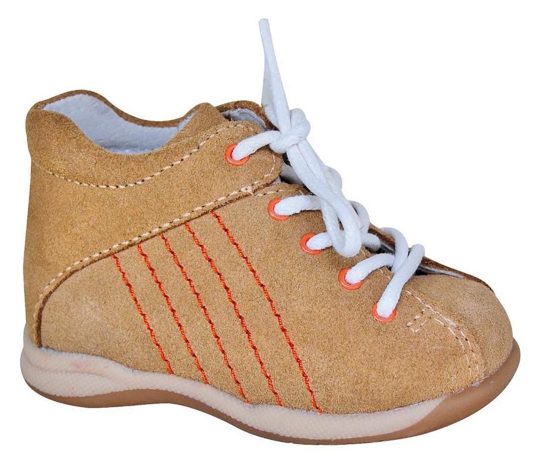 0a646d76bc Protetika Detské kožené členkové topánočky Baby - béžové