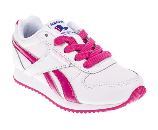 Reebok Dievčenské botasky Royal - ružovo-biele df8cca2bd15