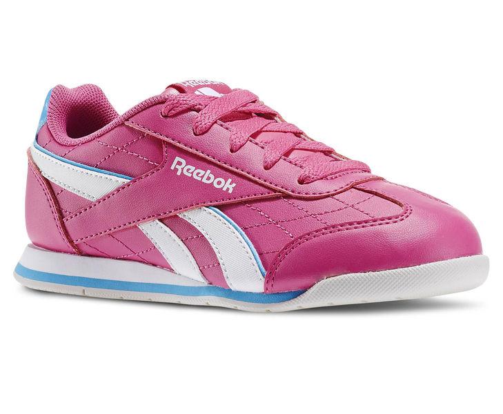 Reebok Dievčenské tenisky Royal Attack - ružové bf175b8f9e7