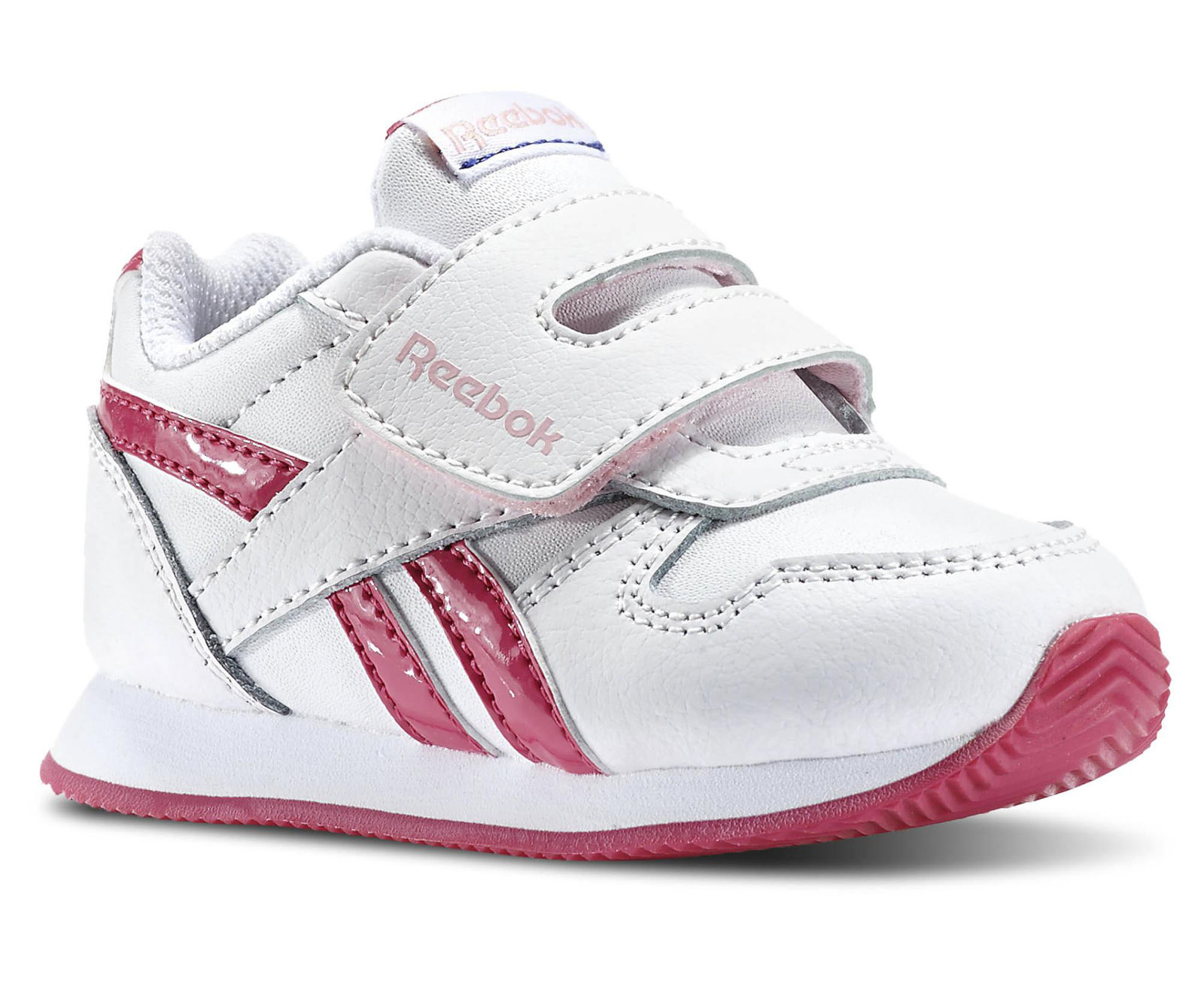 Reebok Dievčenské tenisky Royal Cljogg - ružovo-biele 49ebbf5c8a7