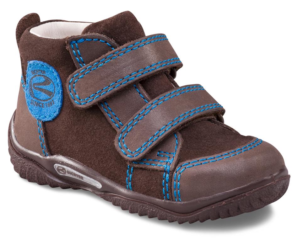 7021a46ff6a22 Richter Chlapčenské členkové topánky - tmavo hnedé, EUR 19 ...