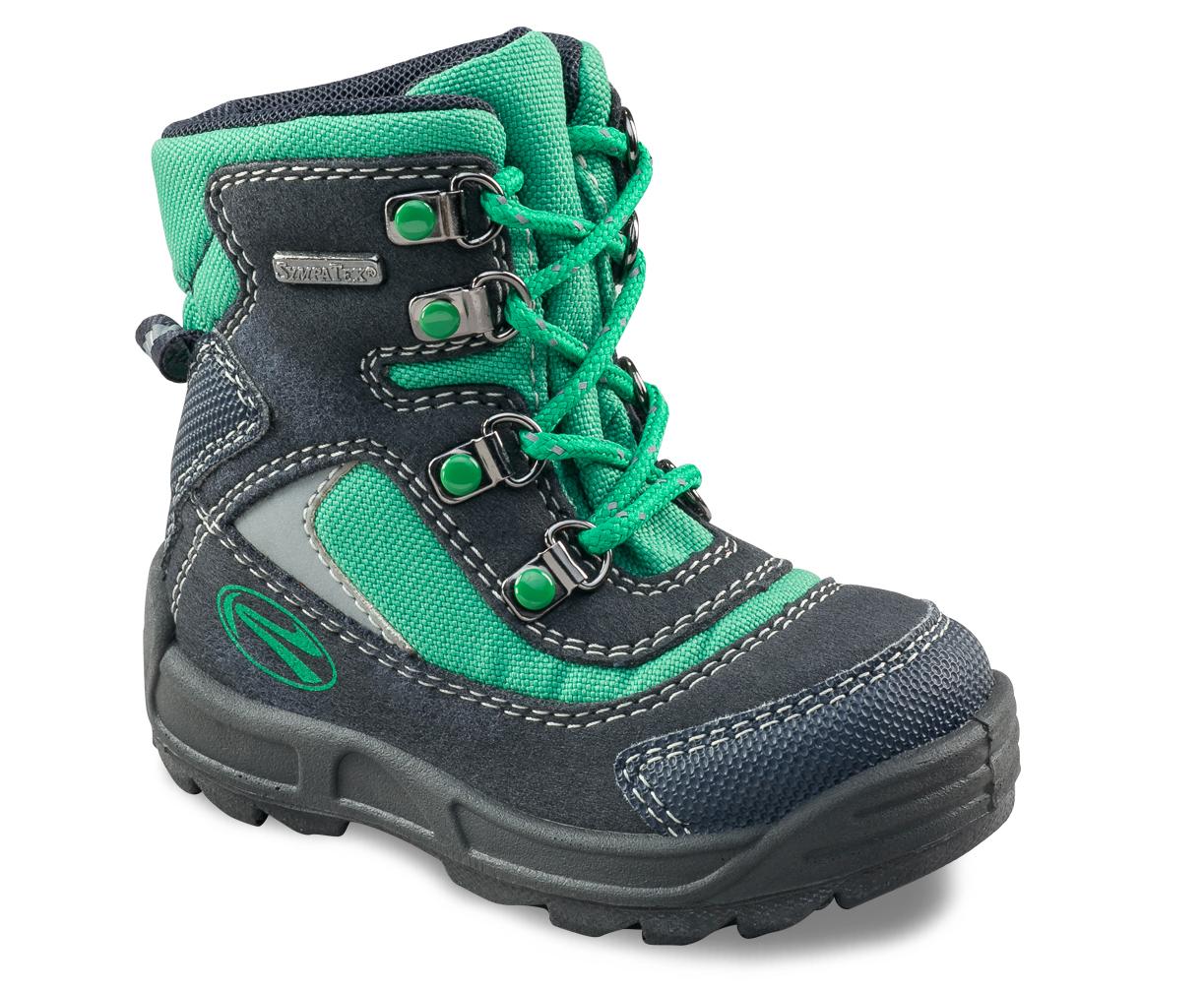 71838d0d1 Richter Chlapčenské zimné členkové topánky - zeleno-modré, EUR 21 ...