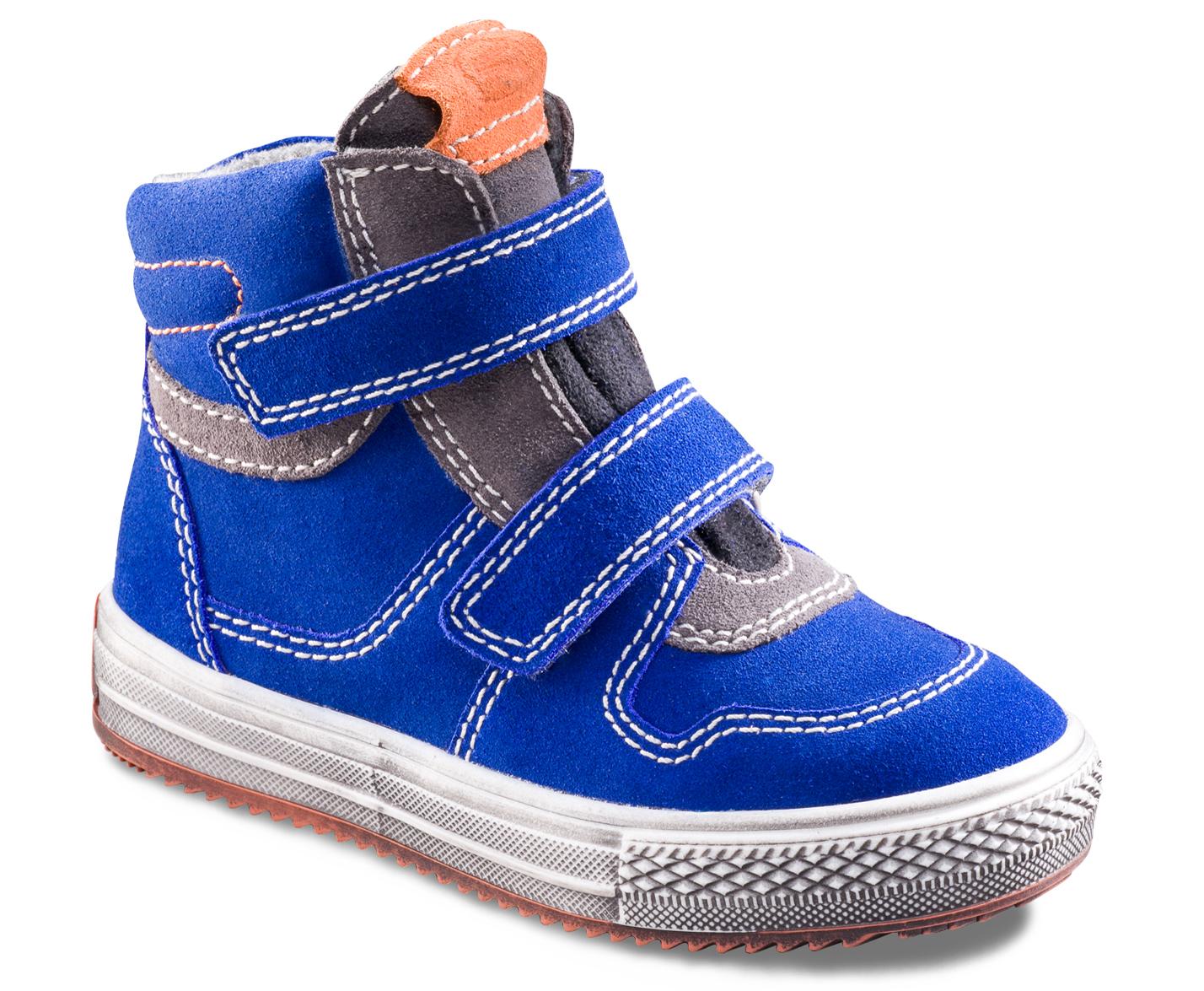 a32dbf90e Richter Chlapčenské zimné kotníkové tenisky - modré, EUR 32 ...