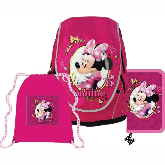 838e7fed71 SunCe Anatomický školský SET ABB batoh Disney Minnie