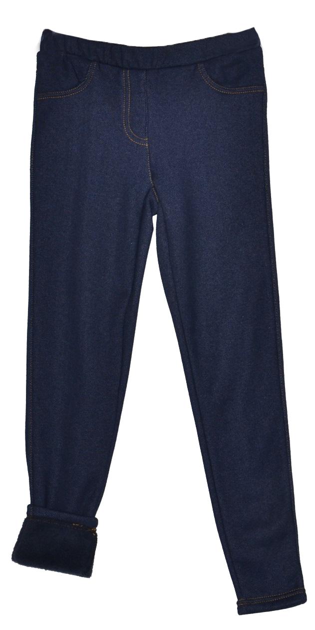3bdce908519f Topo Dievčenské zateplené legíny džínsového vzhľadu - modré