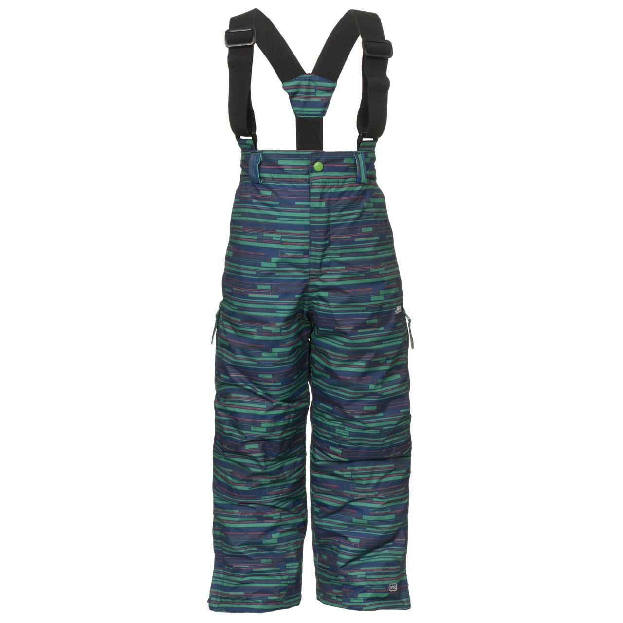 731094900 Trespass Chlapčenské lyžiarske nohavice Barclay - farebné, 98-104 cm ...