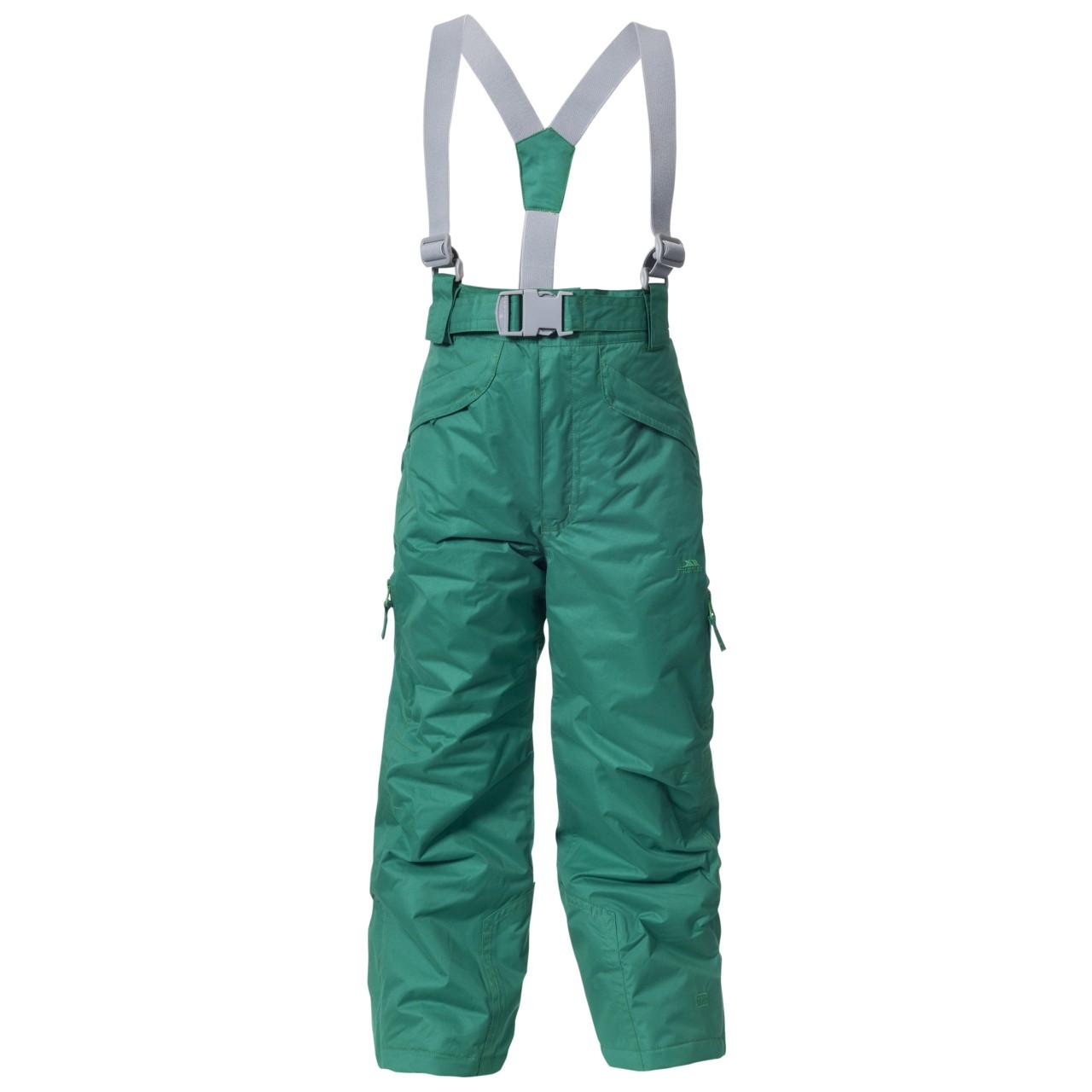 9aa9b095e Trespass Chlapčenské lyžiarske nohavice Marvelous - zelené, 140 cm ...