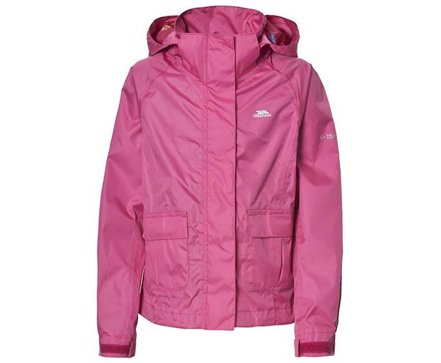 Trespass Dievčenské nepremokavá bunda Twister - ružová 8486e190a76