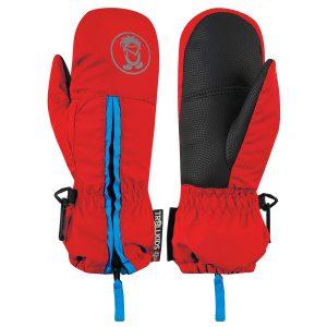 d06849244 Trollkids Detské palcové rukavice Troll - červené, 6-7 let ...